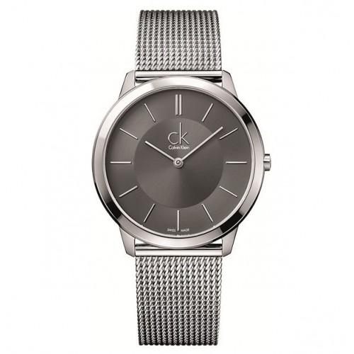 Orologio Minimal quadrante nero - Calvin Klein