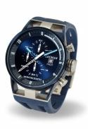 Orologio Montecristo Cronografo al Quarzo Cassa in Acciaio e Titanio - Blu