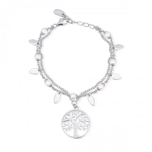 Bracciale argento e perle coltivate 533156 - Mabina