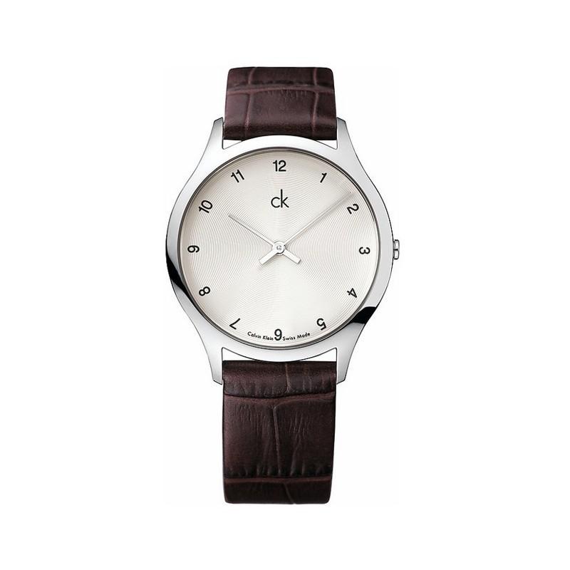 Preferenza Orologio da polso donna Calvin Klein Classic cinturino pelle marrone OA02