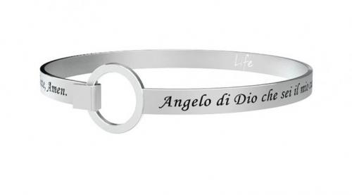 BRACCIALE KIDULT IN ACCIAIO ANGELO DI DIO...