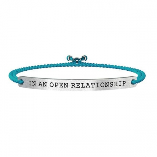 BRACCIALE KIDULT ACCIAIO IN AN OPEN RELATIONSHIP