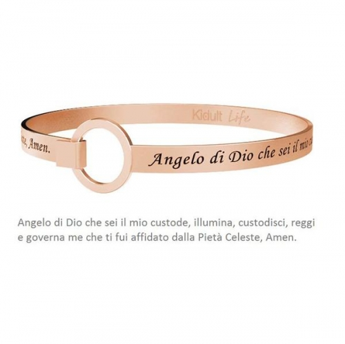 BRACCIALE KIDULT PVD ROSE' ANGELO DI DIO...