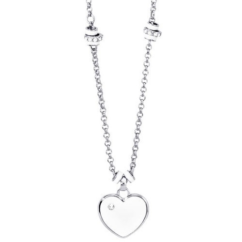 Collana bronzo con cuore Simply Love - 2Jewels