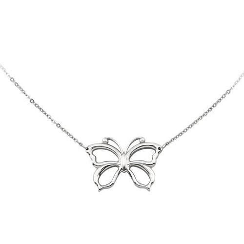 Collana acciaio con farfalla Emotion - 2Jewels