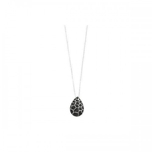Collana argento e zirconi neri Charme - 2Jewels