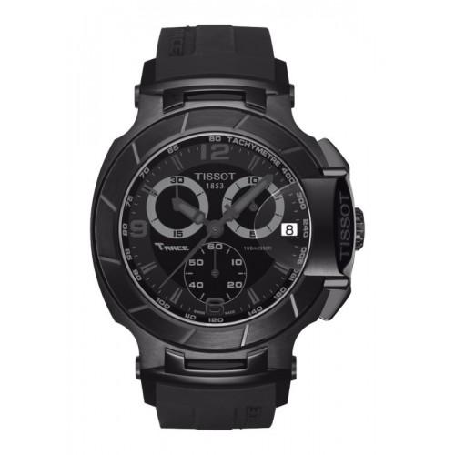 Orologio T-Race Chronograph cinturino nero - Tissot