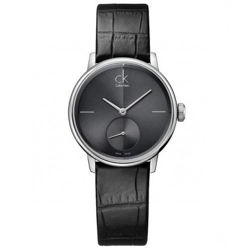 Orologio Accent small cinturino nero - Calvin Klein