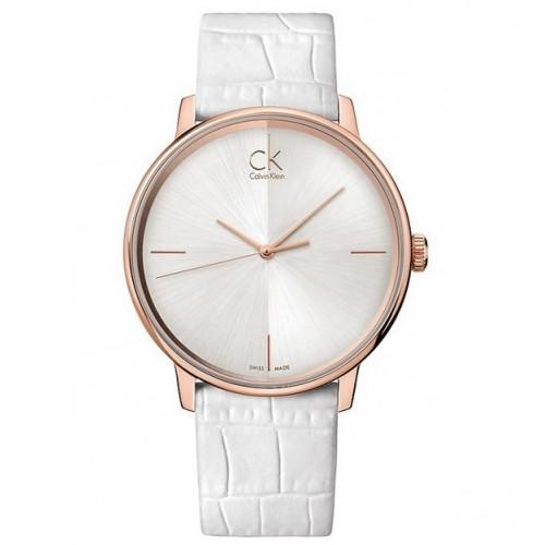 Orologio Accent cinturino bianco - Calvin Klein