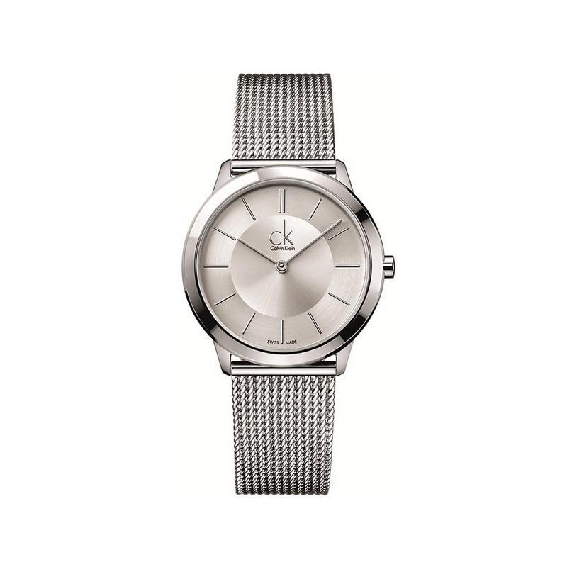 check out d0780 5e114 Orologio Minimal cinturino argento - Calvin Klein
