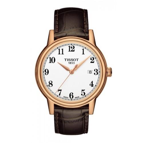 Orologio Carson cinturino pelle marrone - Tissot