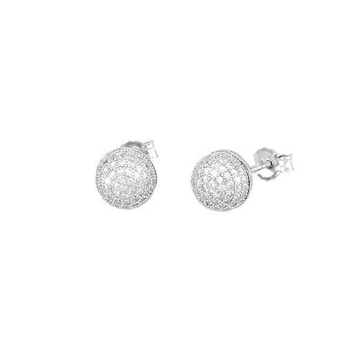 Orecchini argento e zirconi 563005 - Mabina
