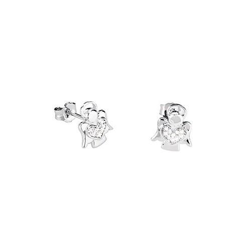 Orecchini argento e zirconi 563039 - Mabina