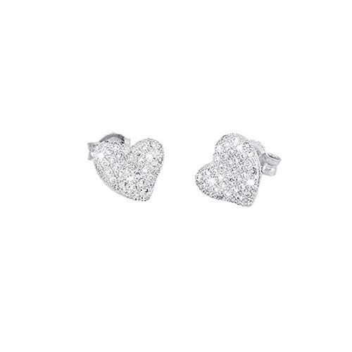 Orecchini argento e zirconi 563031 - Mabina