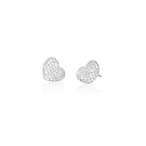 Orecchini argento e zirconi 563071 - Mabina