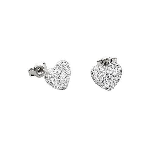 Orecchini argento e zirconi 563042 - Mabina
