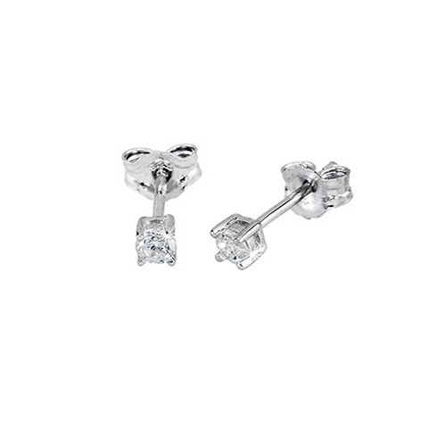 Orecchini argento e zirconi 563015 - Mabina