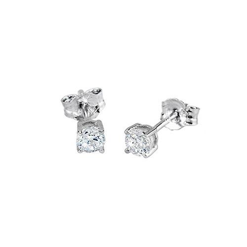 Orecchini argento e zirconi 563016 - Mabina