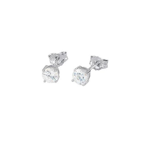 Orecchini argento e zirconi 563017 - Mabina