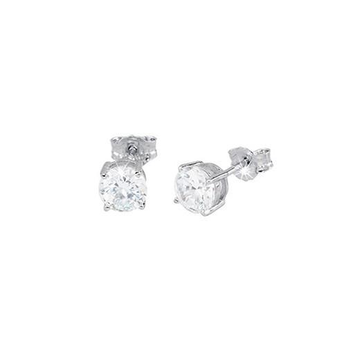 Orecchini argento e zirconi 563018 - Mabina