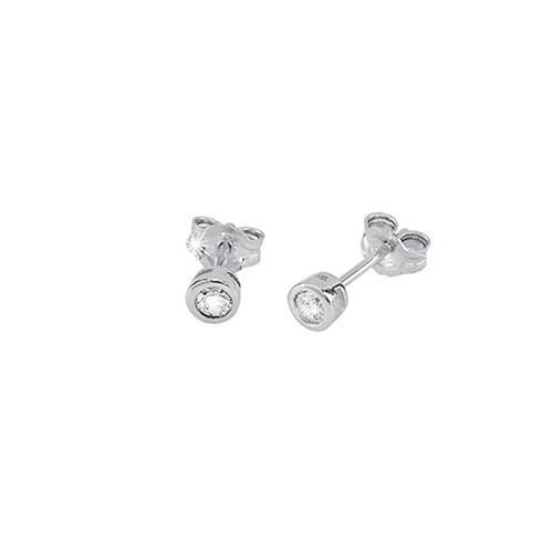 Orecchini argento e zirconi 563019 - Mabina