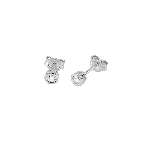 Orecchini argento e zirconi 563020 - Mabina
