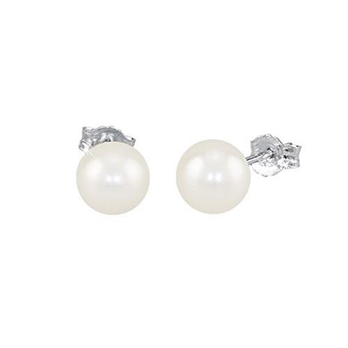 Orecchini argento e perle coltivate 563014 - Mabina