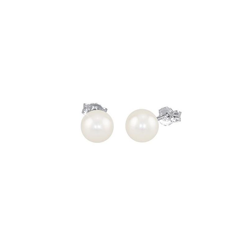 Orecchini Argento e Perle coltivate