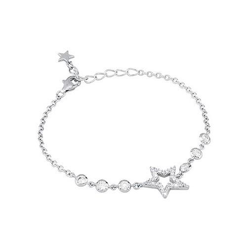 Bracciale argento e zirconi con stella 533011 - Mabina