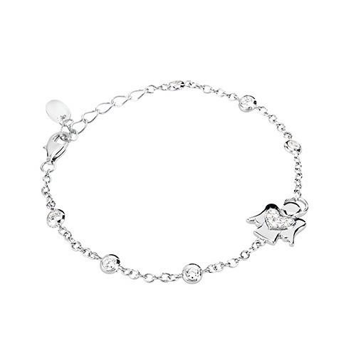 Bracciale argento e zirconi 533024 - Mabina