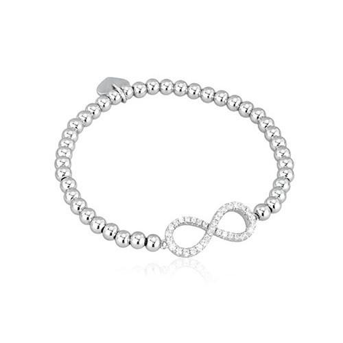 Bracciale argento e zirconi 533047 - Mabina