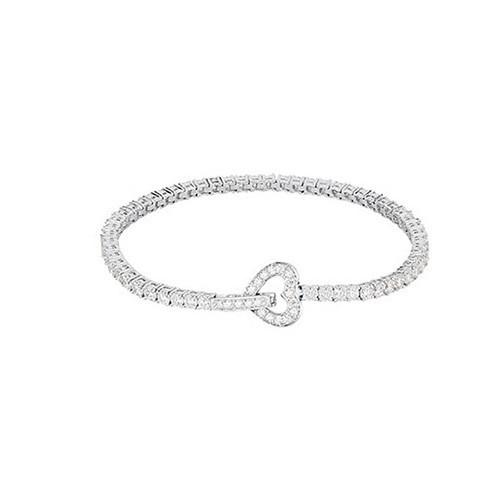 Bracciale argento e zirconi con cuore 533018 - Mabina