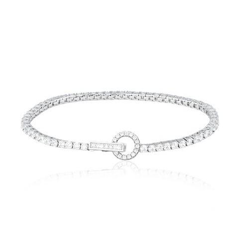 Bracciale argento e zirconi 533050 - Mabina