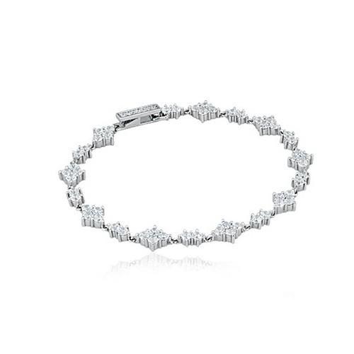 Bracciale argento e zirconi 533049 - Mabina