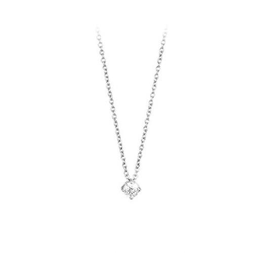 Girocollo argento e zirconi 553012 - Mabina