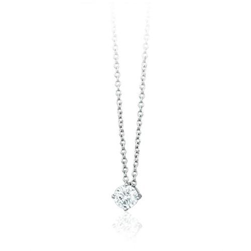 Girocollo argento e zirconi 553060 - Mabina
