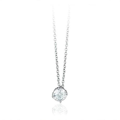 Girocollo argento e zirconi 553061 - Mabina