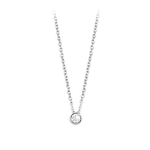 Girocollo argento e zirconi 553021 - Mabina