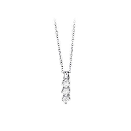 Girocollo argento e zirconi 553017 - Mabina