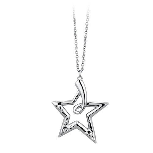 Pendente acciaio e cristallo Starry - 2Jewels