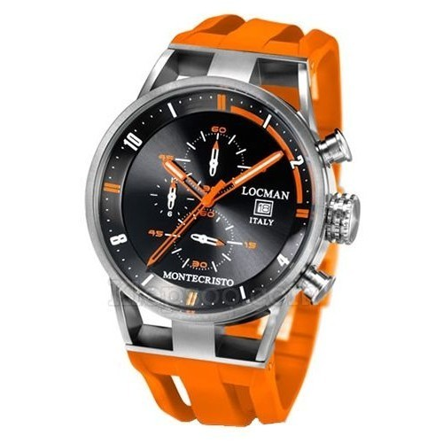 Orologio Montecristo cinturino arancione - Locman