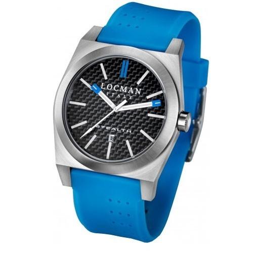 Orologio Stealth cinturino blu e lancette blu- Locman
