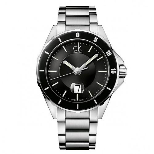 Orologio Play nero e argento - Calvin Klein