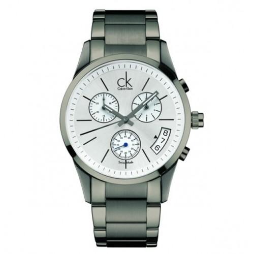Orologio Bold cronografo cinturino grigio - Calvin Klein