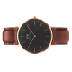 Classic Black St Mawes 40 mm - Daniel Wellington