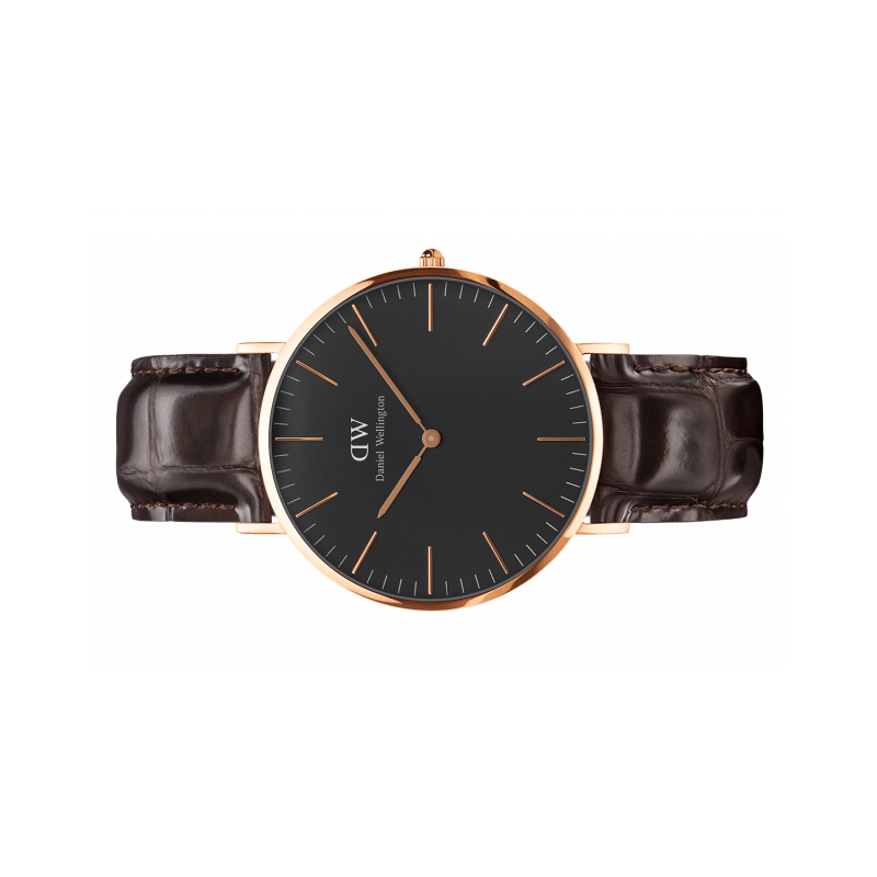 Classic Black York 40 mm - Daniel Wellington