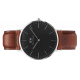Classic Black St Mawes 36 mm - Daniel Wellington
